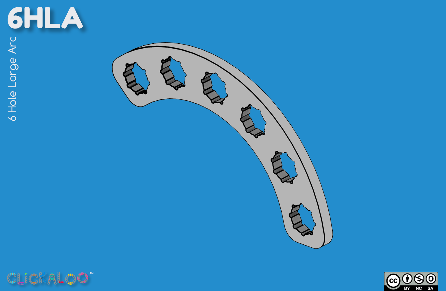 6HLA  |  6 Hole Large Arc